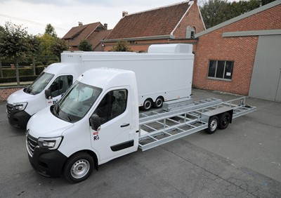 The New Renault Master 2020 market truck